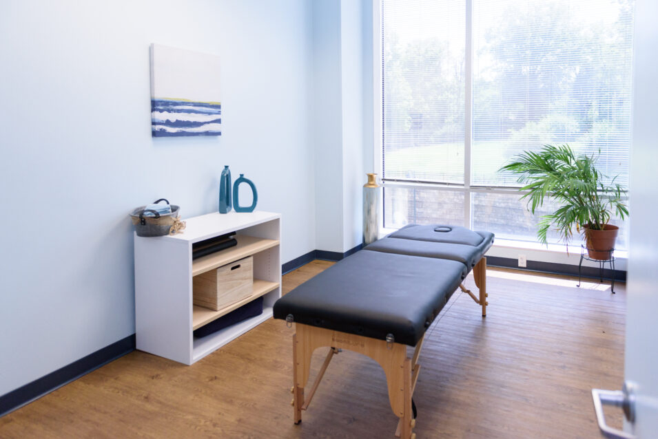 Physical therapy Session Room at Anchor Wellness Center Cincinnati, Ohio